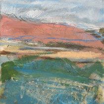 'Scalby-Beck-in-Summertime',-mixed-media,-26-x-20cm